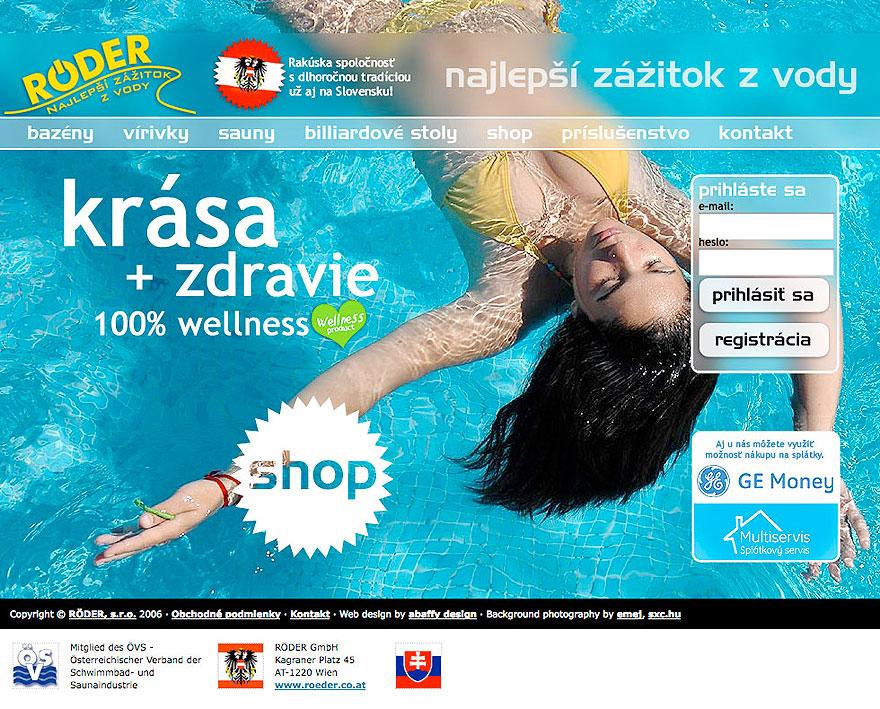 Swimming Pool Website Design portfolio_slider categoryweb number_of_items5 Httpwwwroedersk